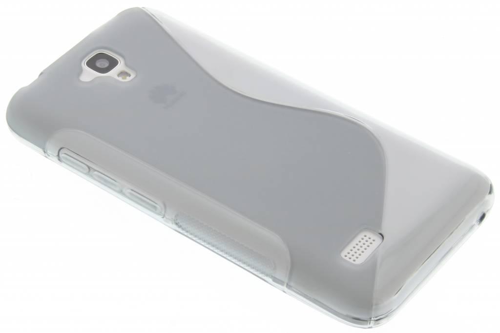 Grijs S-line TPU hoesje voor de Huawei Y5