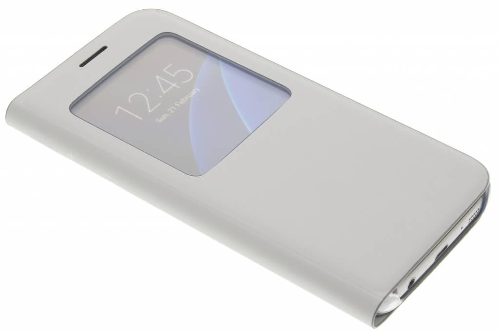 Samsung originele S View Cover  voor de Samsung Galaxy S7 - grijs