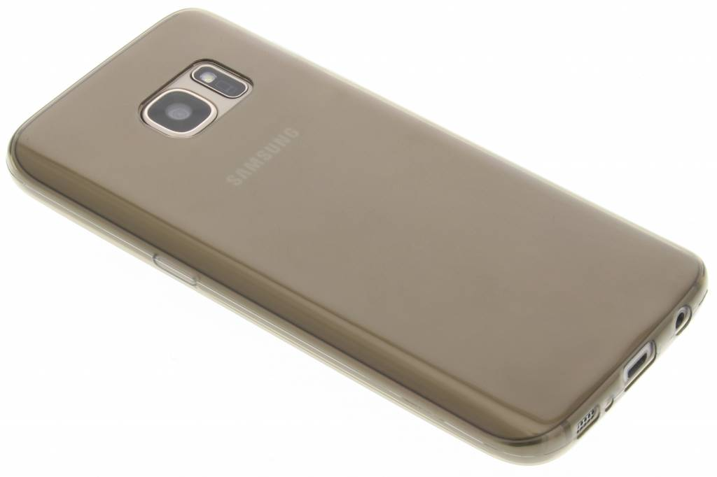 Grijs ultra thin transparant TPU hoesje voor de Samsung Galaxy S7