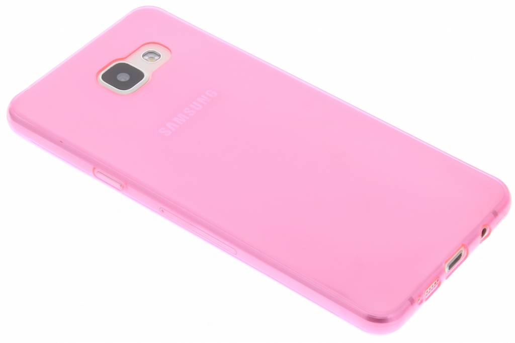 Roze ultra thin transparant TPU hoesje voor de Samsung Galaxy A5 (2016)