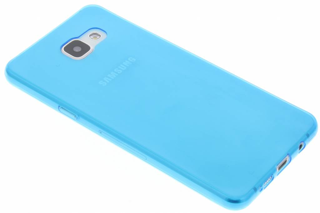 Blauw ultra thin transparant TPU hoesje voor de Samsung Galaxy A5 (2016)