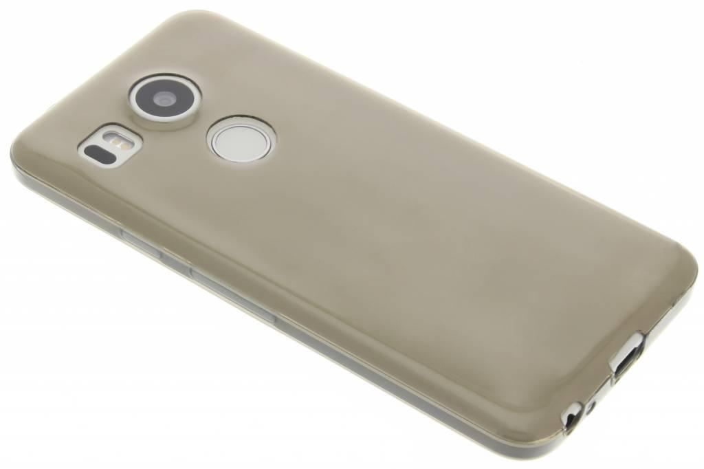 Grijs ultra thin transparant TPU hoesje voor de LG Nexus 5X