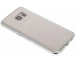 Samsung originele Clear Cover Galaxy S7 - Zilver
