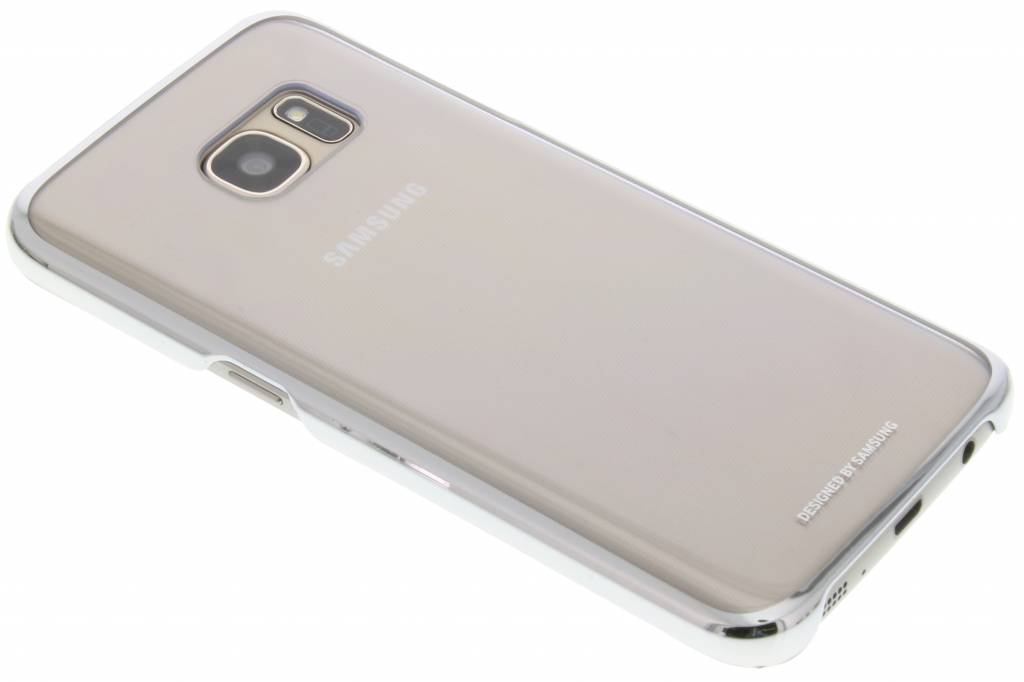 Samsung originele Clear Cover voor de Galaxy S7 - Zilver