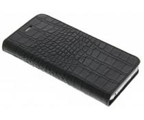 Valenta Booklet Classic Style iPhone 6 / 6s - Croco Black
