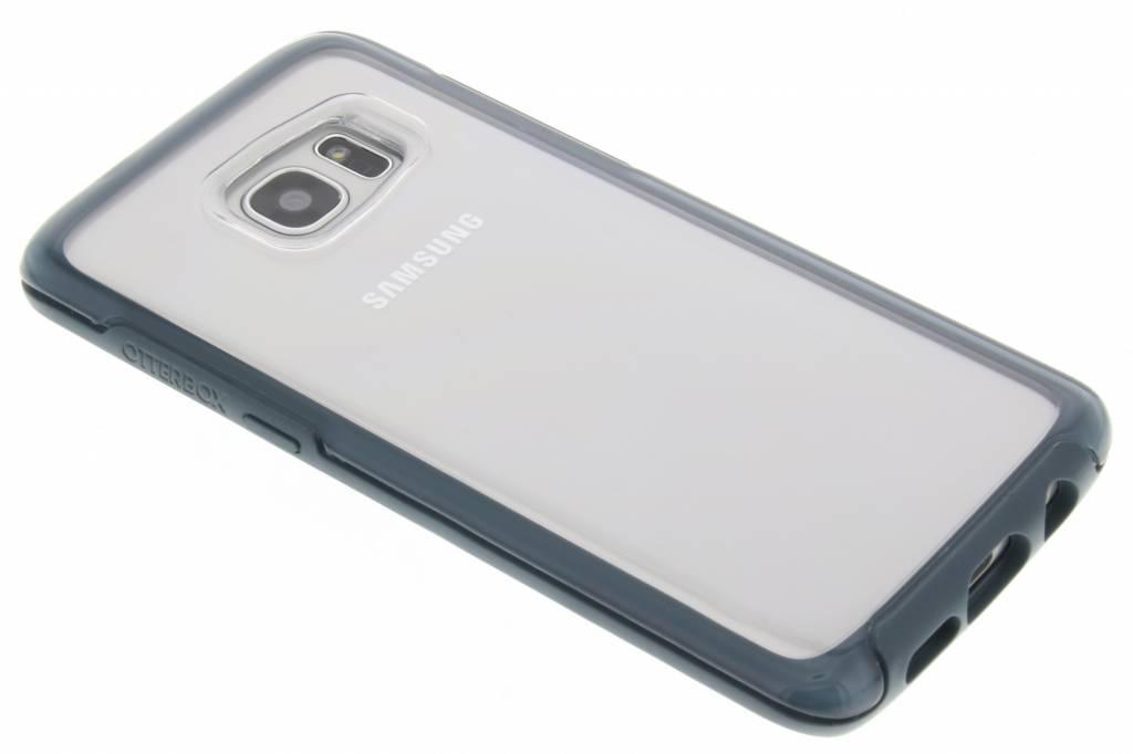 OtterBox Symmetry Clear Case voor de Samsung Galaxy S7 Edge - Tempest Blue