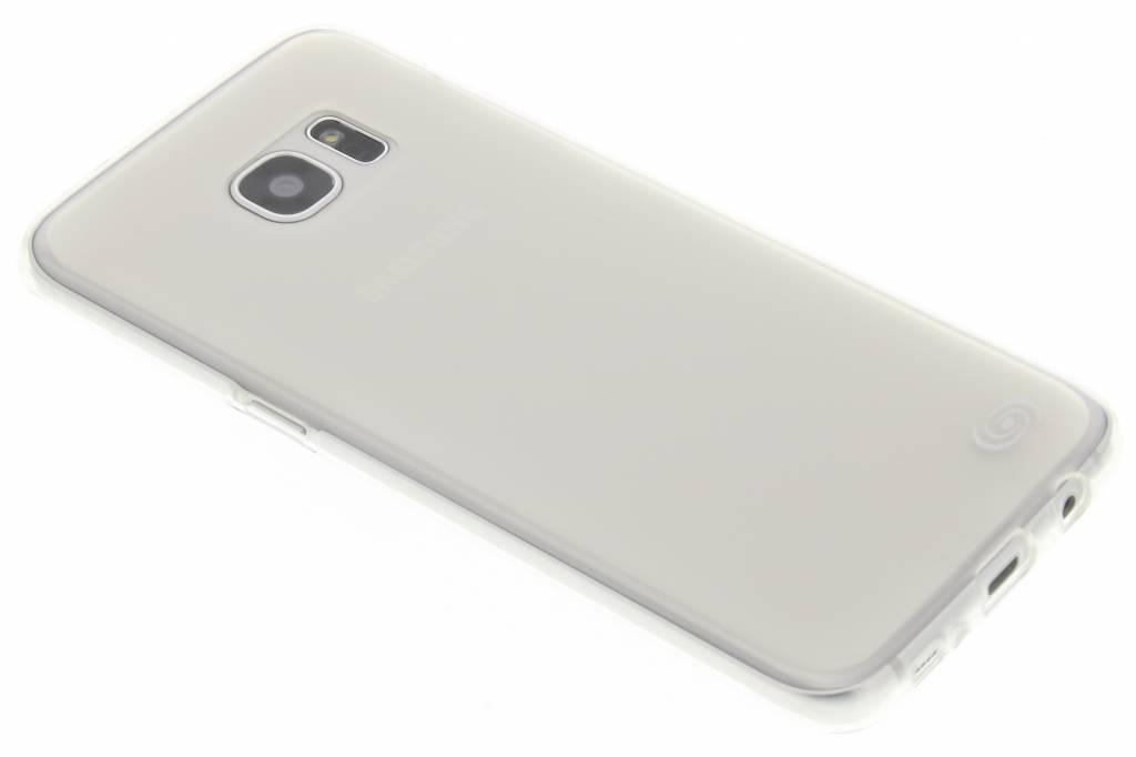 Fonex Pixel TPU Case voor de Samsung Galaxy S7 Edge - Transparent