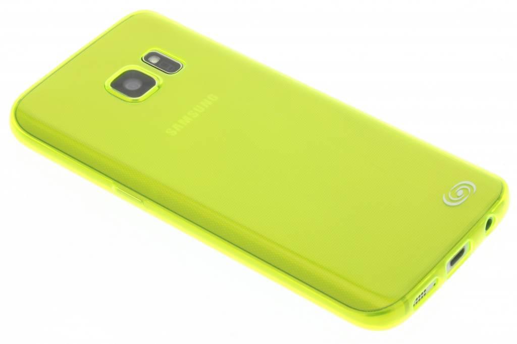 Fonex Invisible Ultra Thin Case voor de Samsung Galaxy S7 - Neon Green