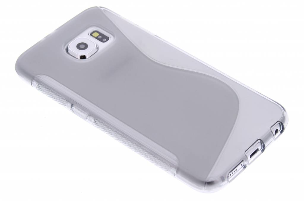 Grijs S-line TPU hoesje voor de Samsung Galaxy S6