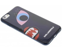 Karl Lagerfeld Design TPU Case iPhone 6(s) Plus - Blue