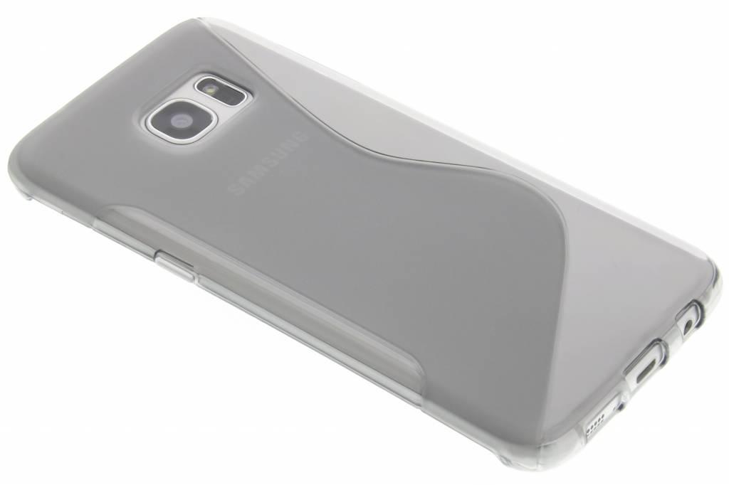 Grijs S-line TPU hoesje voor de Samsung Galaxy S7 Edge