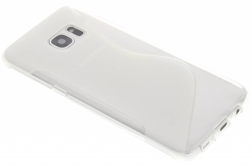 Transparant S-line TPU hoesje voor de Samsung Galaxy S7 Edge