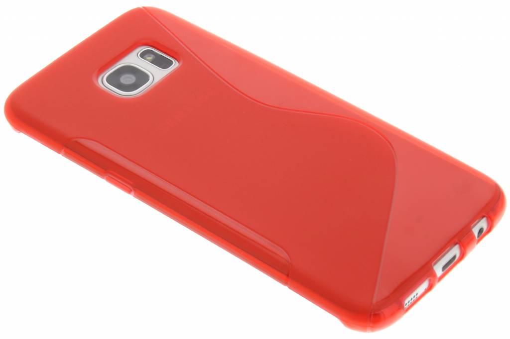 Rood S-line TPU hoesje voor de Samsung Galaxy S7 Edge