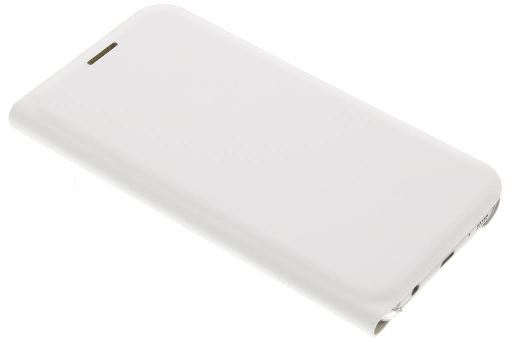Witte luxe slim booktype hoes voor de Samsung Galaxy S7