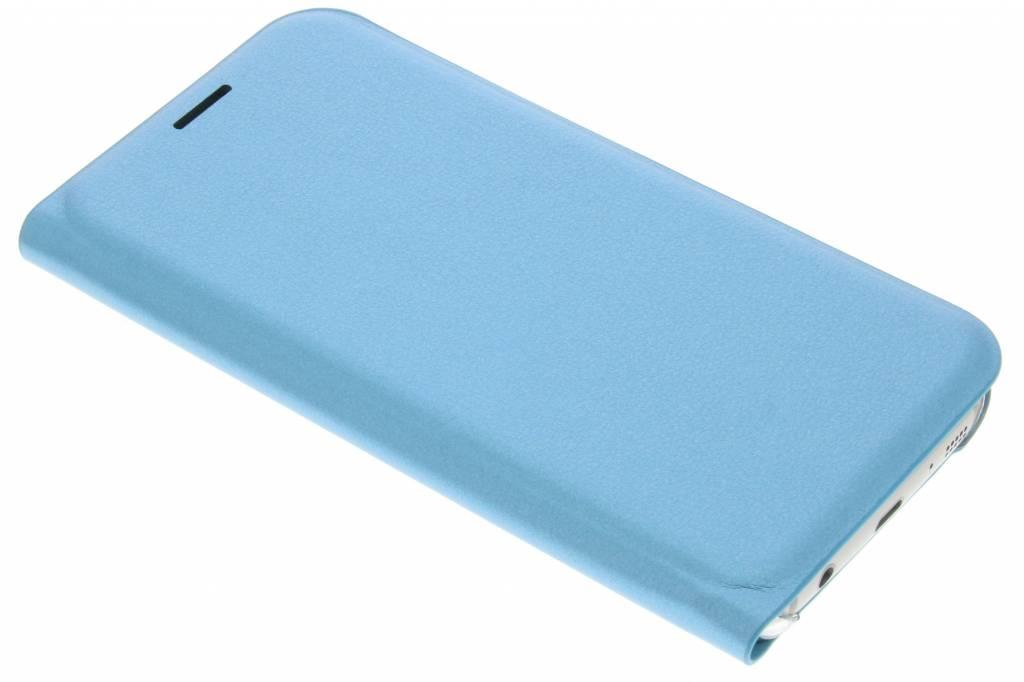 Turquoise luxe slim booktype hoes voor de Samsung Galaxy S7