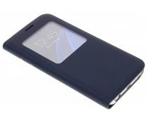 Slim booktype hoes met venster Samsung Galaxy S7