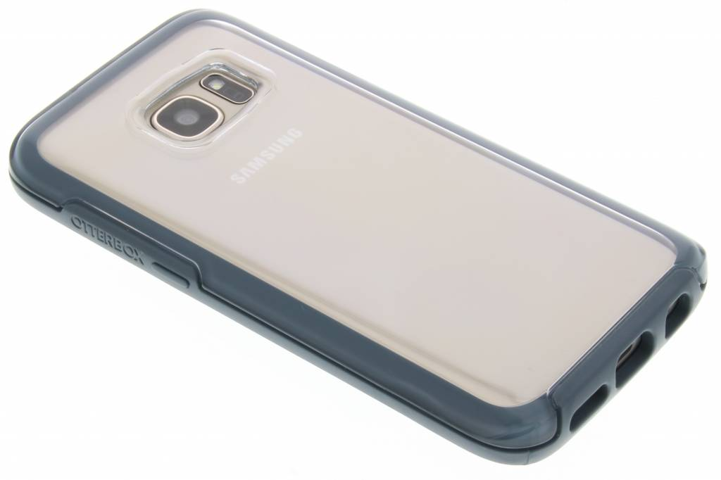 OtterBox Symmetry Clear Case voor de Samsung Galaxy S7 - Blue Crystal