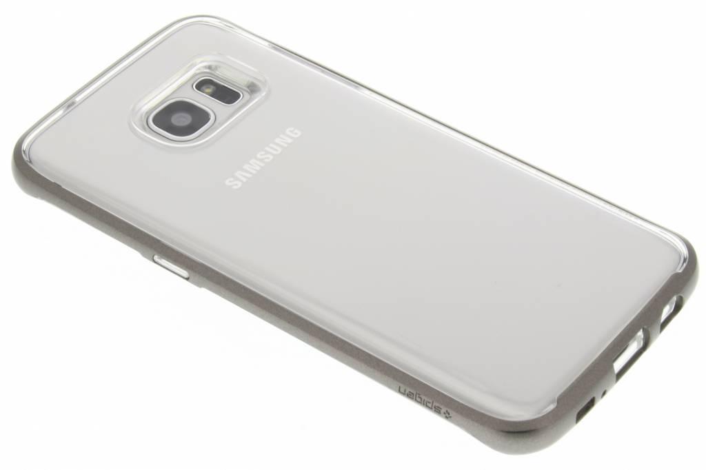Spigen Neo Hybrid Crystal Case voor de Samsung Galaxy S7 Edge - Gunmetal