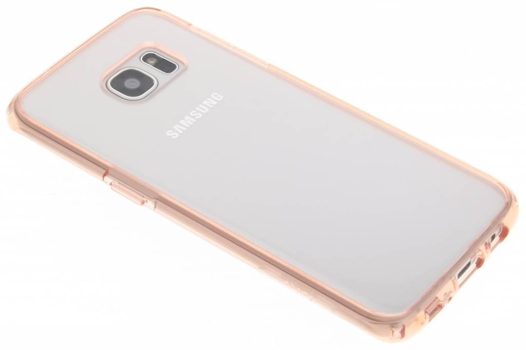 Spigen Ultra Hybrid Case voor de Samsung Galaxy S7 Edge - Rose Crystal