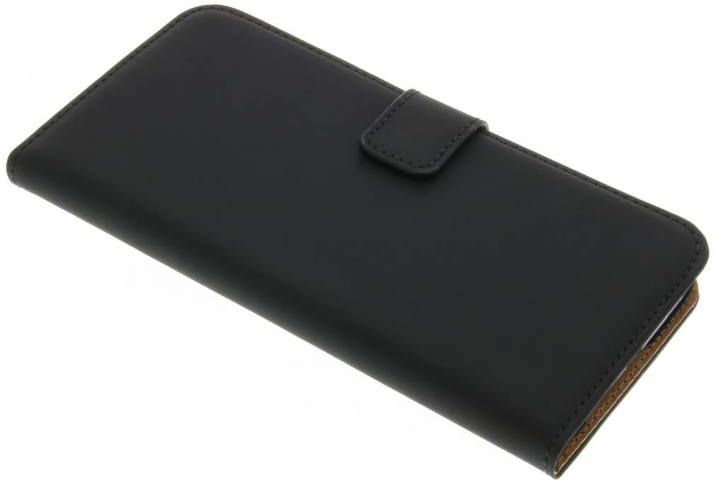 Selencia Luxe Book Case voor de Samsung Galaxy S7 Edge - Zwart