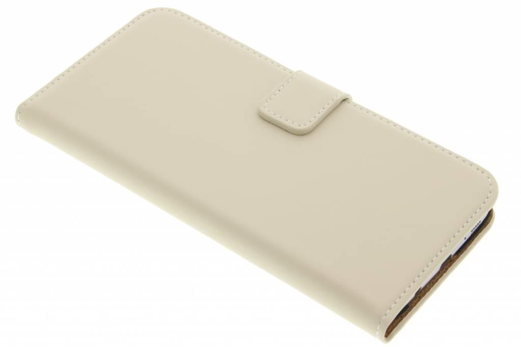 Selencia Luxe Book Case voor de Samsung Galaxy S7 Edge - Gebroken wit