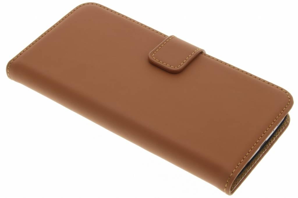 Selencia Luxe Book Case voor de Samsung Galaxy S7 - Bruin