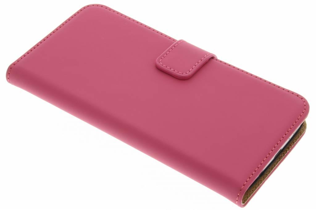 Selencia Luxe Book Case voor de Samsung Galaxy S7 - Fuchsia