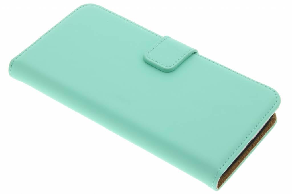 Selencia Luxe Book Case voor de Samsung Galaxy S7 - Mintgroen