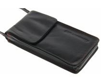 dbramante1928 Leather Lanyard Case - Smooth Black
