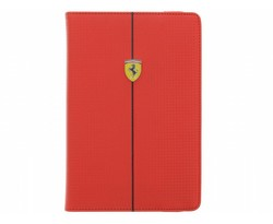 Ferrari Carbon Universal Tablet Case 7-8 inch - Red