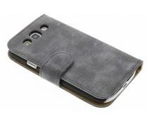 Hagedis design booktype hoes Samsung Galaxy S3 / Neo