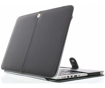 Zwart effen booktype MacBook 12 inch