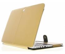 Goud effen booktype MacBook 12 inch