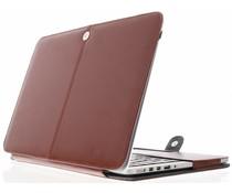 Bruin effen booktype MacBook Air 13.3 inch