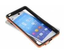Oranje bumper Sony Xperia M5