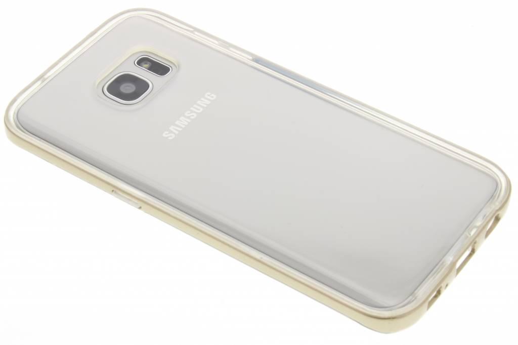 Gouden bumper TPU case voor de Samsung Galaxy S7 Edge