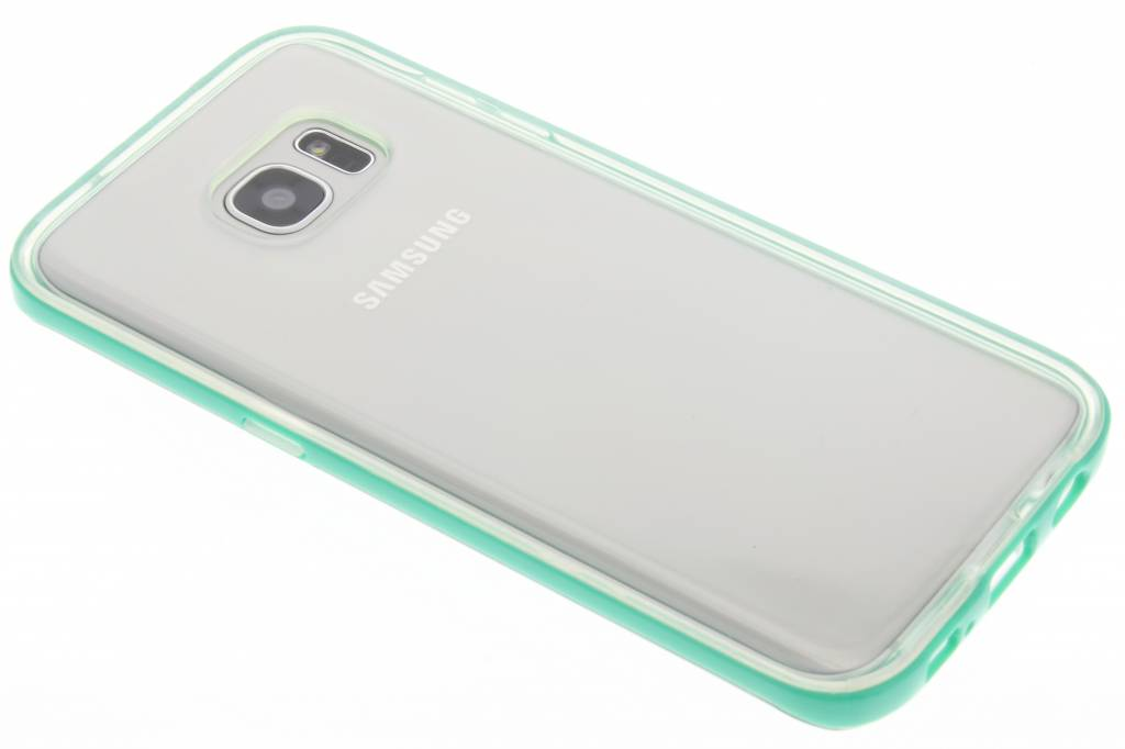 Groene bumper TPU case voor de Samsung Galaxy S7 Edge