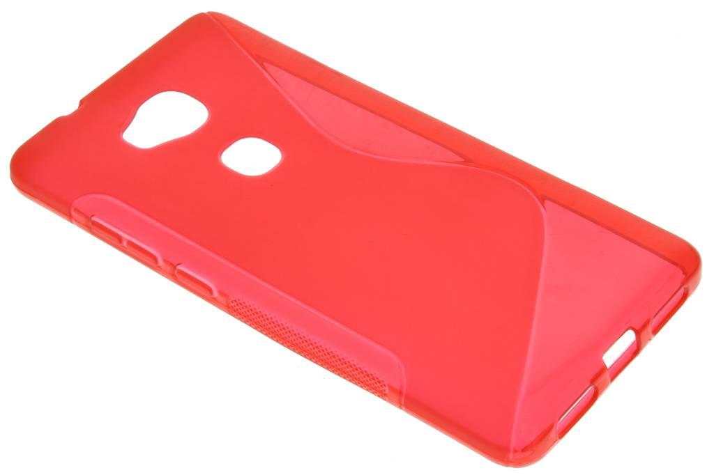 Rood S-line TPU hoesje voor de Honor 5X