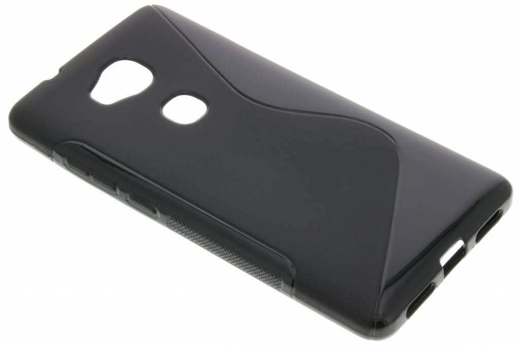 Zwart S-line TPU hoesje voor de Honor 5X