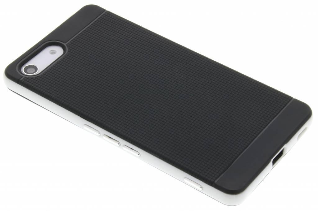 Zilveren TPU Protect case voor de Sony Xperia M5