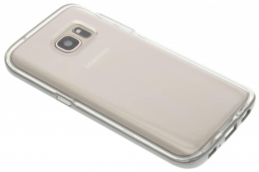 Grijze bumper TPU case voor de Samsung Galaxy S7
