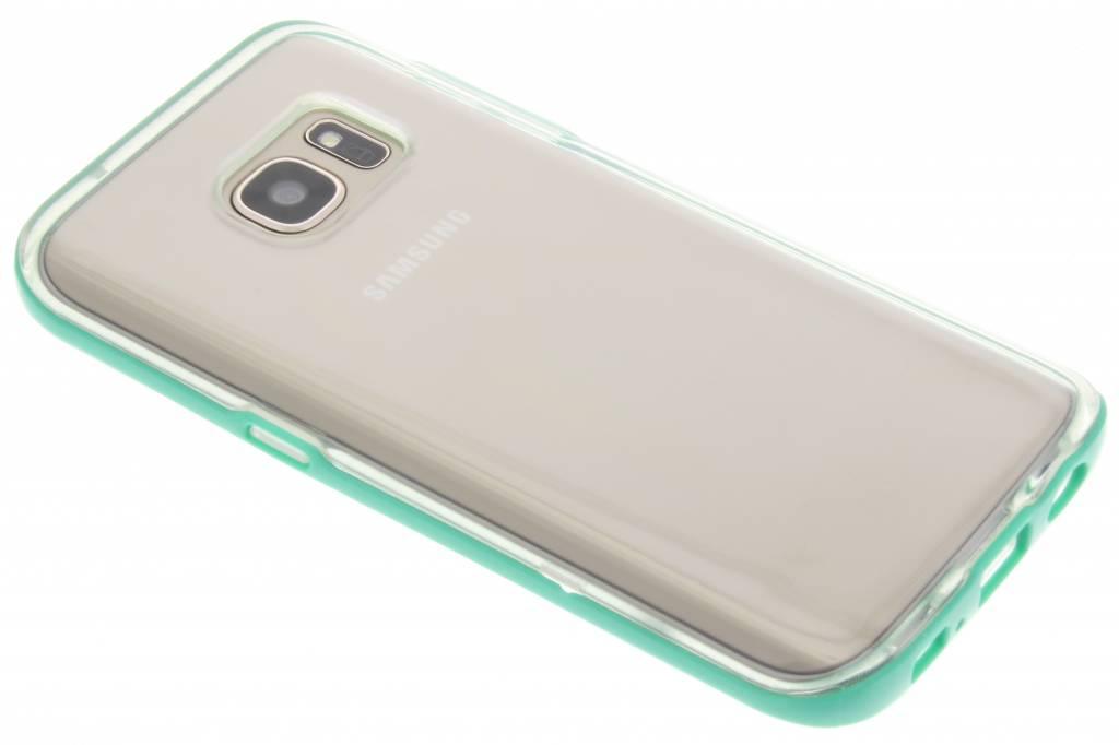 Groene bumper TPU case voor de Samsung Galaxy S7