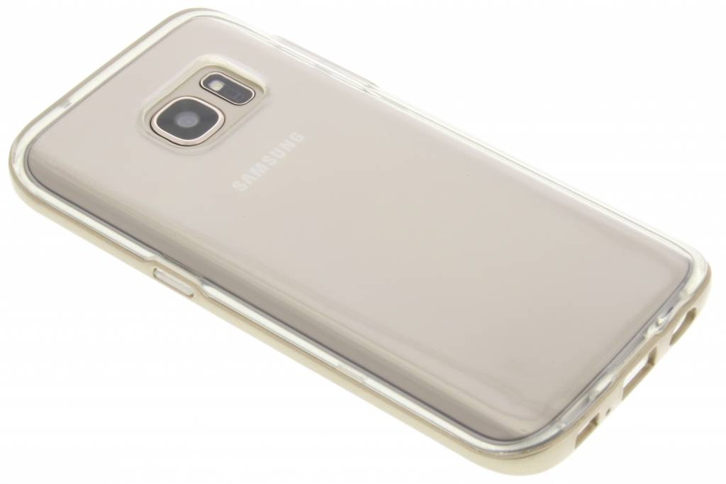 Gouden bumper TPU case voor de Samsung Galaxy S7