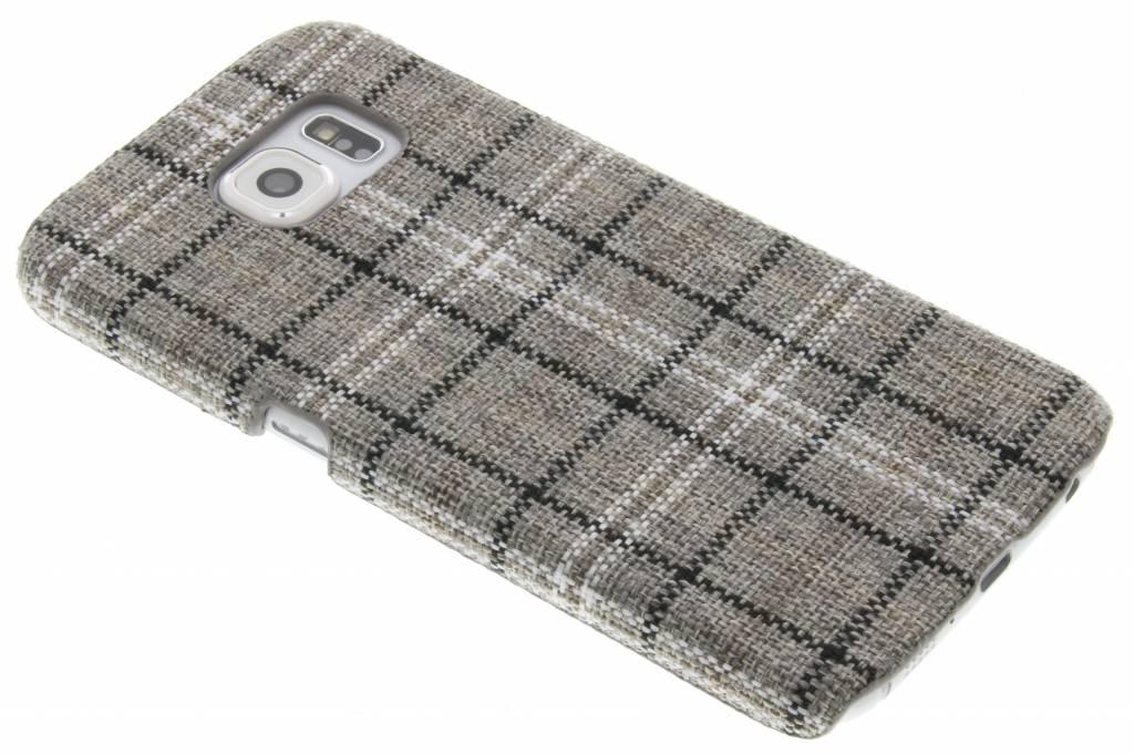 Fonex Tartan Hard Case voor de Samsung Galaxy S6 - Grey