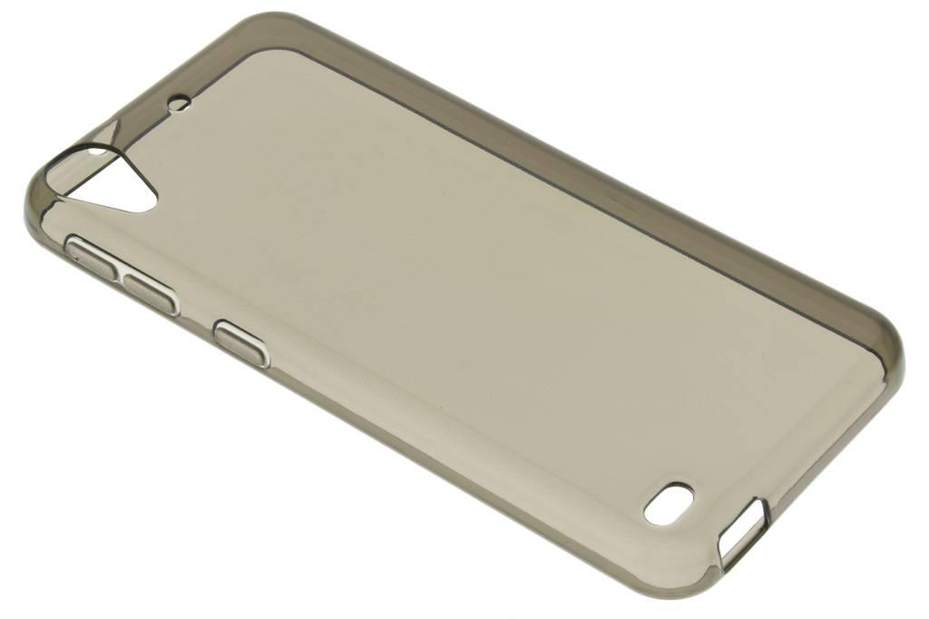 Grijze transparante gel case voor de HTC Desire 530