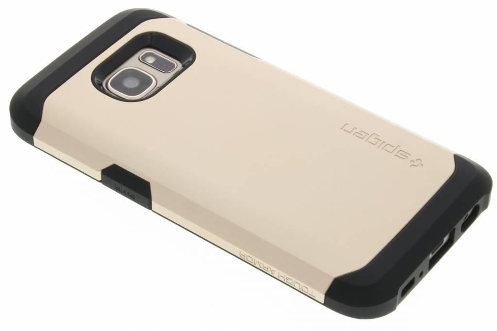 Spigen Tough Armor Case voor de Samsung Galaxy S7 - Goud