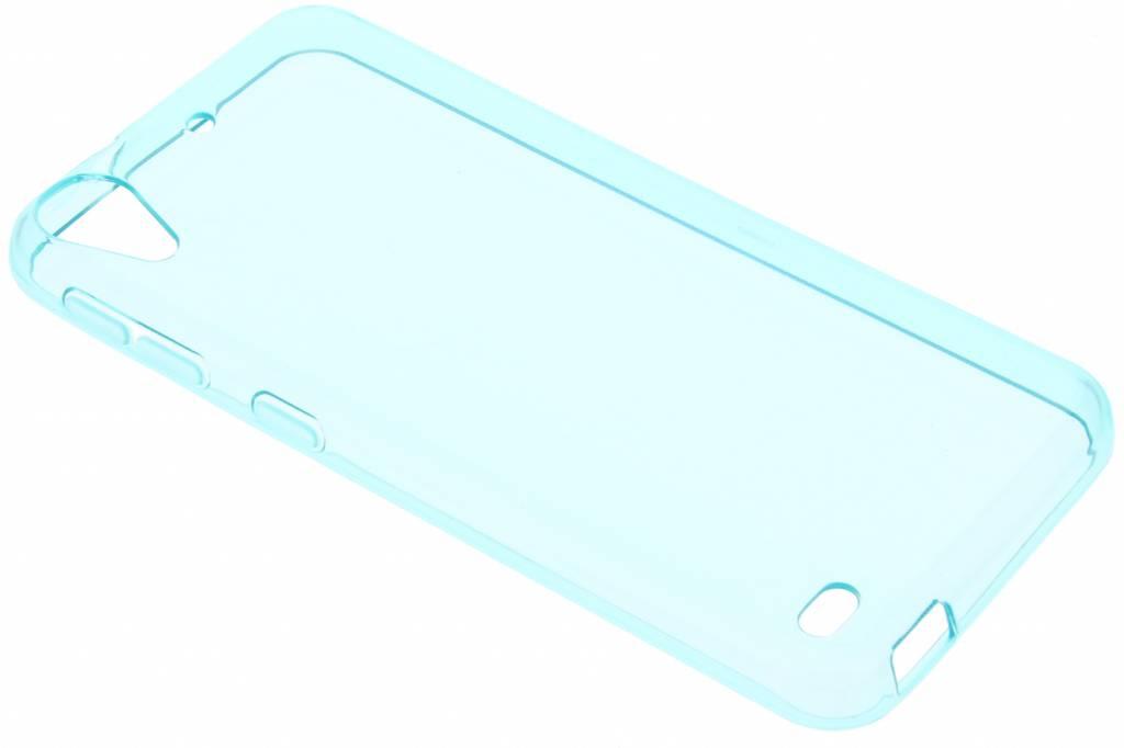 Turquoise transparante gel case voor de HTC Desire 530