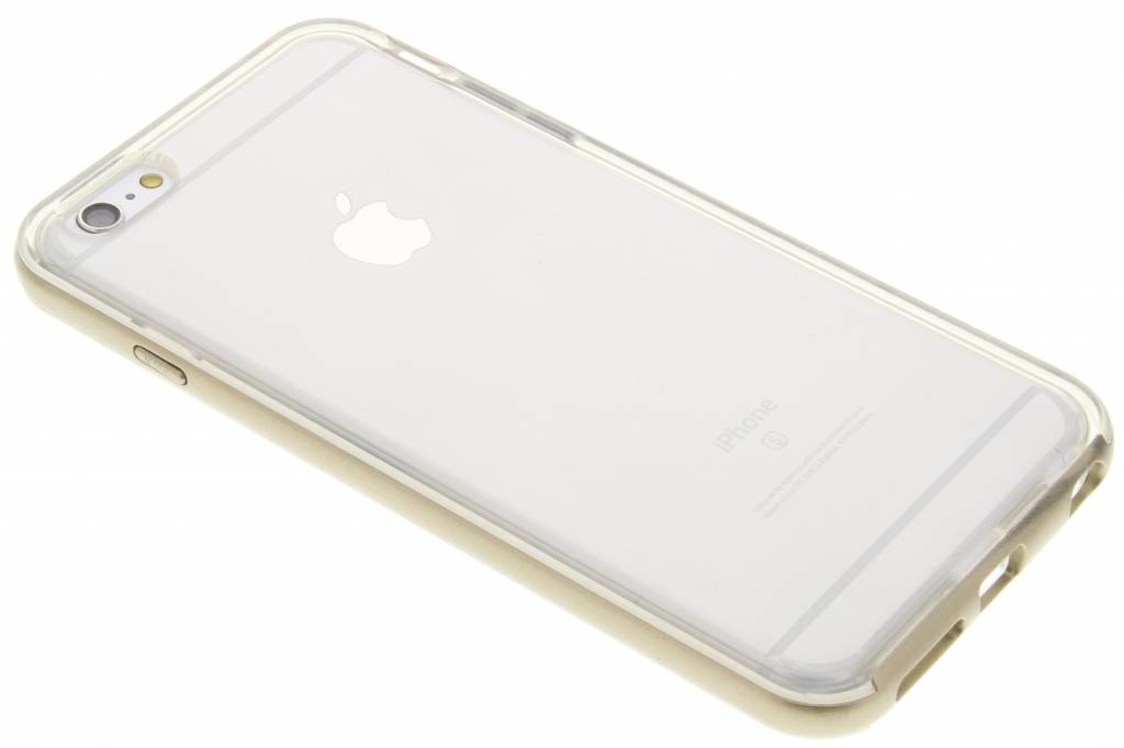 Gouden bumper TPU case voor de iPhone 6(s) Plus