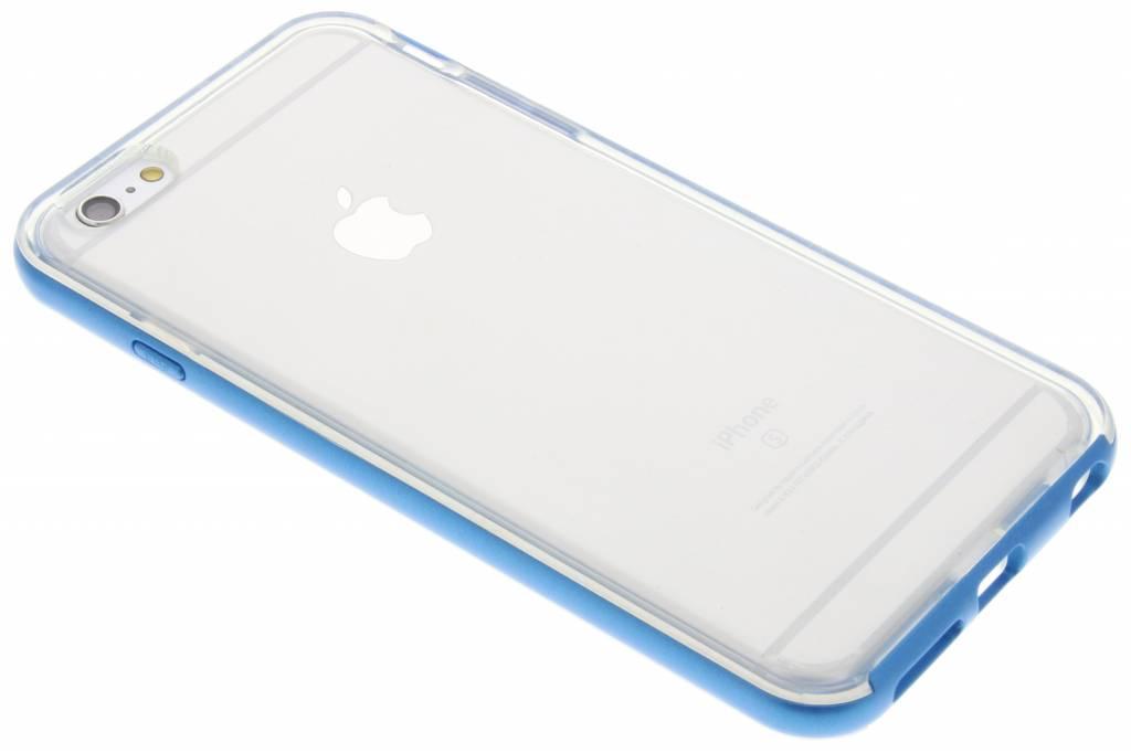Blauwe bumper TPU case voor de iPhone 6(s) Plus