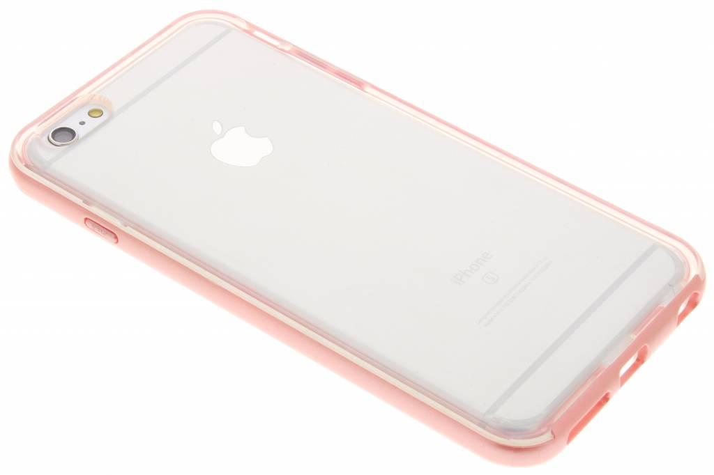 Roze bumper TPU case voor de iPhone 6(s) Plus